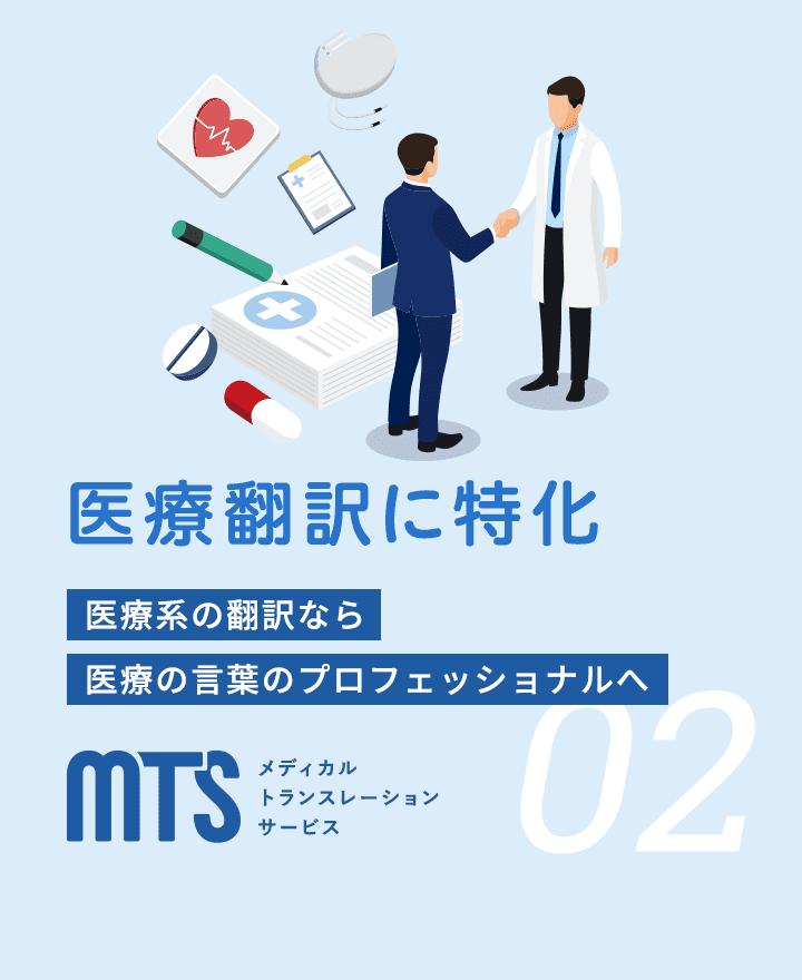 医療翻訳に特化
