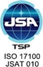 ISO 17100:2015 JSAT 010